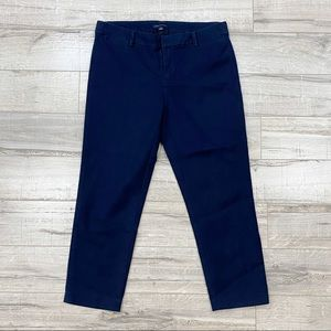 Tommy Hilfiger Cropped Navy Pants Trousers 4 Small
